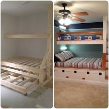 Build Wood Bunk Beds by 1610 Best Bunk Bed Ideas Images On Pinterest Bedroom Ideas