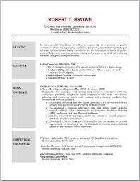 Resume Example Simple by Free Resume Templates 81 Mesmerizing Examples Format 2014