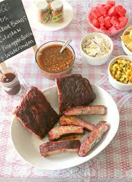 pork side ribs dry rub recipe food next recipes