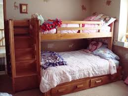 choosing the functional twin over full bunk bed with stairs