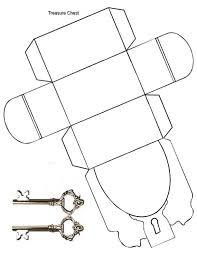 paper crafts u2013 pirate u0027s treasure chest activity bags treasure
