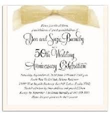 Greetings For 50th Wedding Anniversary 50th Wedding Anniversary Invitations Kawaiitheo Com