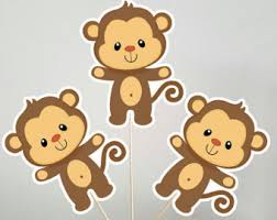 Baby Monkey Centerpieces by Gold Crown Cake Topper Gold Crown Centerpiece Stick Prince