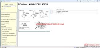 mitsubishi pajero 2015 service manual cd auto repair manual