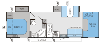 26 simple motorhome class c floor plans agssam com