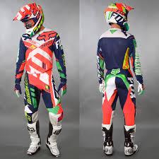 fox motocross fox motocross u0026 enduro mx combo fox 360 divizion orange maciag