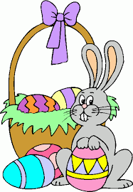 easter bunny baskets easter baskets clip search easter cards polymer