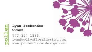 Business Card Wedding Francelle U0027s Blog Wedding Purple Flowers Place Card Business Card