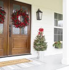 Farm House Porches Our Farmhouse Christmas Front Porch Beneath My Heart
