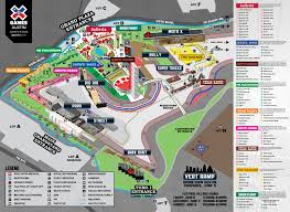 Downtown Austin Map by The X Games Austin 2014 Schedule U0026 Festival Map 365 Things To Do