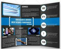 engineering brochure templates manufacturing engineering tri fold brochure template design