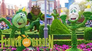 epcot flower and garden festival 2017 walt disney world youtube