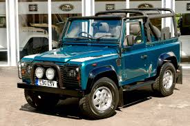 land rover defender tdi sv 90 soft top