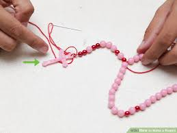 how to make a rosary 4 ways to make a rosary wikihow