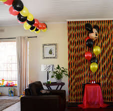 James 2nd Birthday Party – Mickey Mouse Decor – SugarQube