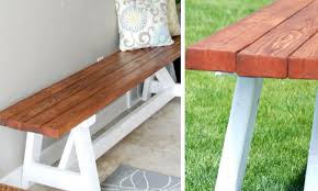 How To Make A Wooden Bedside Table by 77 Diy Bench Ideas U2013 Storage Pallet Garden Cushion Rilane