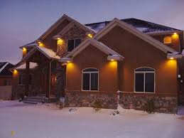 outdoor under eave lighting outdoor lighting awesome outdoor under soffit lighting stylish
