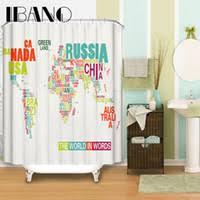 Shower Curtain World Map Best World Map Shower Curtain To Buy Buy New World Map Shower