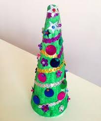 fork printed christmas tree craft christmas tree tree crafts