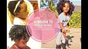 toddler hair newborn to toddler hair regimen