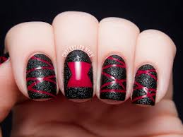 nail art marvelous easy halloweenail art photo design designs for