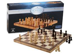 chess set wooden 15 7