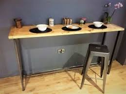 Reclaimed Wood Bar Table Breakfast Bar Table Bistro Table Made From Solid Reclaimed Wood
