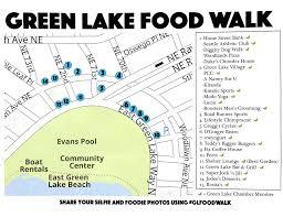 seattle map green lake map of the green lake food walk event yelp