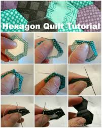 How To M by Hexagon Quilt Tutorial