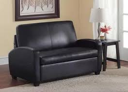 Small Loveseat Black Sofa Sleeper Loveseat Couch Convertible Twin Bed Mattress