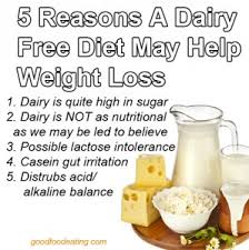 5 reasons a dairy free diet may help your weight loss