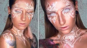 henna makeup white henna inspired makeup tutorial