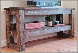 Diy Console Table Plans by Ana White Taylor Console Diy Projects