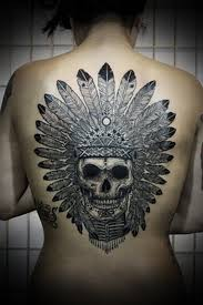 8 mexican tattoos on back