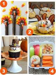 31 thanksgiving food craft ideas