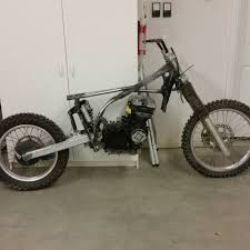 zx600 engine swap build dirt bike