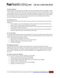 Sample Resume For Early Childhood Assistant by Fun Teambuilding Dot Net 52 Ways To Have Fun At Work
