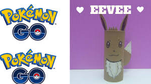 pokemon go how to make a toilet roll eevee toilet paper roll