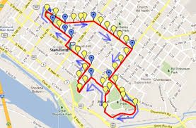 Richmond Virginia Map by Hill Topper 5k Route Map And Temporary Street Closings Church