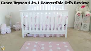 Graco Espresso Convertible Crib by Graco Bryson 4 In 1 Convertible Crib Review Happy Baybees Youtube