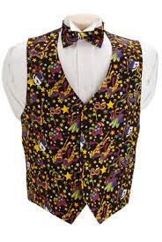 mardi gras bow david s formal wear mardi gras mask vest and bow tie set