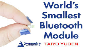 video the world u0027s smallest bluetooth module from taiyo yuden