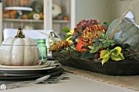 Fall Table Decor Diy Fall Decor Rustic Centerpiece Today U0027s Creative Life