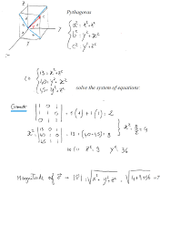 the projections of a vector on x y plane the y z plane and the
