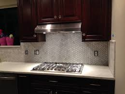 kitchen panels backsplash small kitchen decoration using octagon stainless steel kitchen