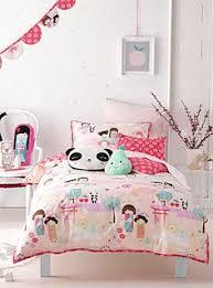 fairy castle single duvet cover set girls princess bedding
