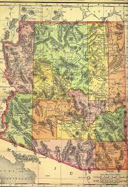 State Of New Mexico Map by History Of Arizona Wikipedia