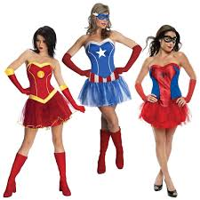 Woman Superhero Halloween Costumes Superhero Costumes Female Group Ideas Halloween Fancy Dress