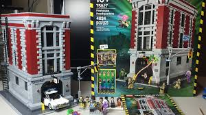 Lego Headquarters Lego Ghostbusters Firehouse Headquarters Speedbuild U0026 Review Youtube