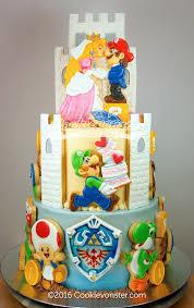 mariobros wedding cake cookievonster flickr